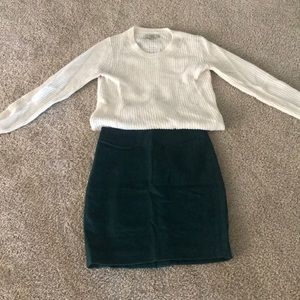 Emerald Jcrew pencil skirt